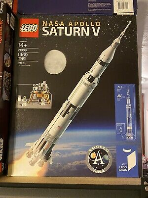 LEGO 21309 Ideas NASA Apollo Saturn V Rocket - New Sealed