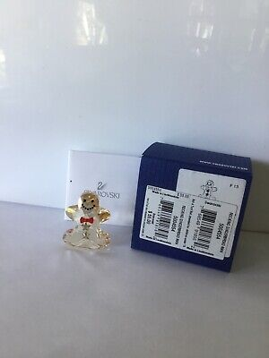Swarovski ROCKING GINGERBREAD MAN Color Crystal Figurine 5004554 MINT/BOX Gingerbread Man Box
