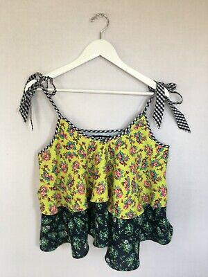 House of Holland, floral top, size uk10
