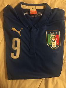 Mario Balotelli Team Italy Soccer Jersey