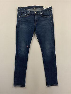 Rag & Bone Women's Blue Skinny Fit Jeans Size 32