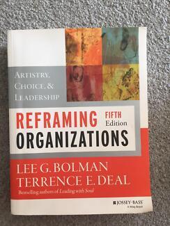 Reframing Organizations 5th Edition