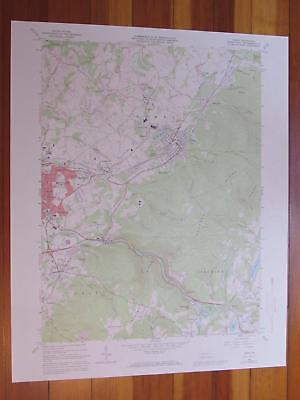 Derry Pennsylvania 1973 Original Vintage USGS Topo Map