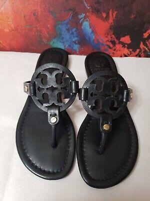 #-502- Tory Burch 'Miller' Flip Flop  Leather (Women) Sz 6 1/2 M