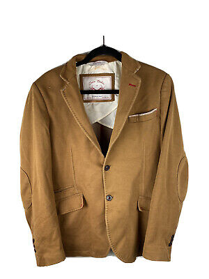 Zara Man Denim Couture Mens Jacket Eur 50 Usa 40 Good Condition