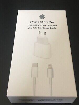 Adaptador 20 W +cable 1m Carga USB - C Lightning Carga Rápida...