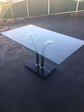 Glass top table Bow Bowing Campbelltown Area Preview