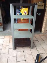 Frosted glass shelving unit Cranebrook Penrith Area Preview