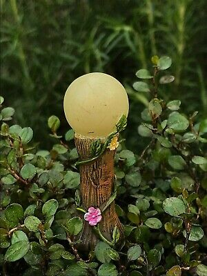 Miniature Dollhouse FAIRY GARDEN ~ Glow in the Dark Gazing Ball Pick