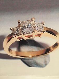 Princess Cut Engagement Ring Attadale Melville Area Preview