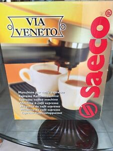 Saeco coffee machine Via Veneto Brand New/Box never opened