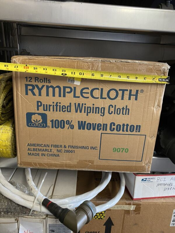 Rymplecloth 9070 2624  Purified Wiping Cloth Qty 12 Rolls