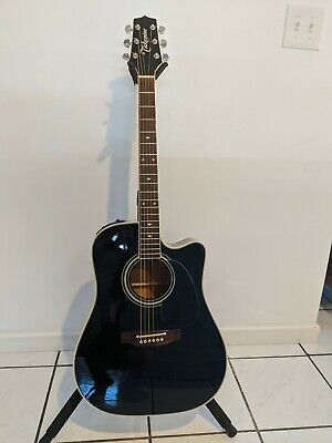 Takamine EF341C 6 String Acoustic Electric Guitar