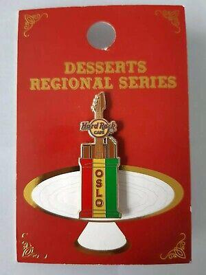 Hard Rock Cafe Oslo Desserts Regional Series Pin