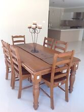 Dining room table and buffet unit Cameron Park Lake Macquarie Area Preview