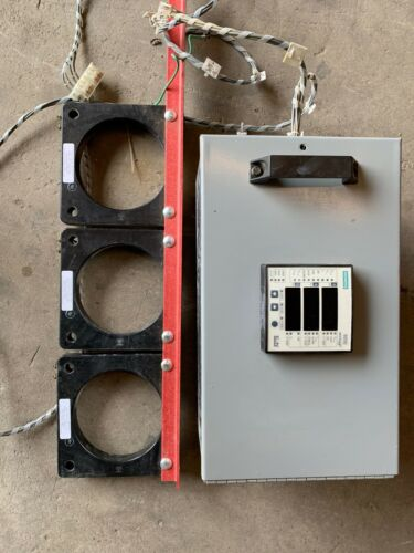 9200 Siemens ION Technology Meter with 2000:5A Current Transformers