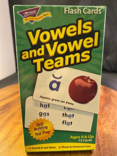Trend Enterprises Inc Vowels & Vowel Teams Skill Drill Flash