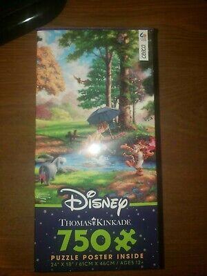 Disney Thomas Kinkade Winnie the Pooh Puzzle 750 piece Ceaco NEW!