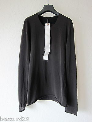 LABEL UNDER CONSTRUCTION TWO-TONED LONGSLEEVE KNIT POELL (BLACK/CHARCOAL 46)