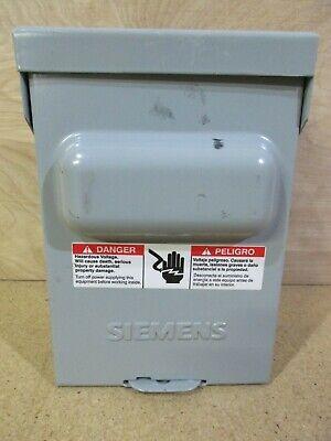 Siemens Wf2030 30 Amp Disconnect A254
