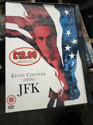 JFK DVD KEVIN COSTNER NEW UNSEALED