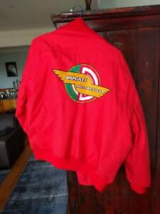 Ducati Motorcycle Jacket - Red (Official Cagiva Group)
