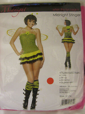 seven 'til Midnight 10174 and 10174X Midnight Stinger Bee Costume & wings 4 pc](Bee Stinger Costume)