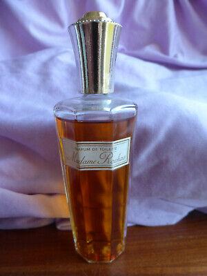 Madame Rochas 50ml Vintage Parfum de toilette Used A Bottle and a Half Bottle