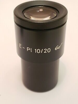 Zeiss Microscope Eyepiece E-pl 10x20 Excellent