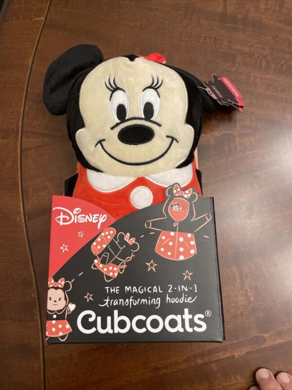 Mini Mouse Cubcoats-  2 IN 1 Transforming Hoodie (Size 3)