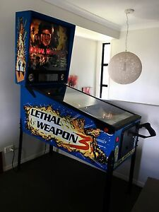 Pinball machine - Lethal Weapon 3 Mackenzie Brisbane South East Preview
