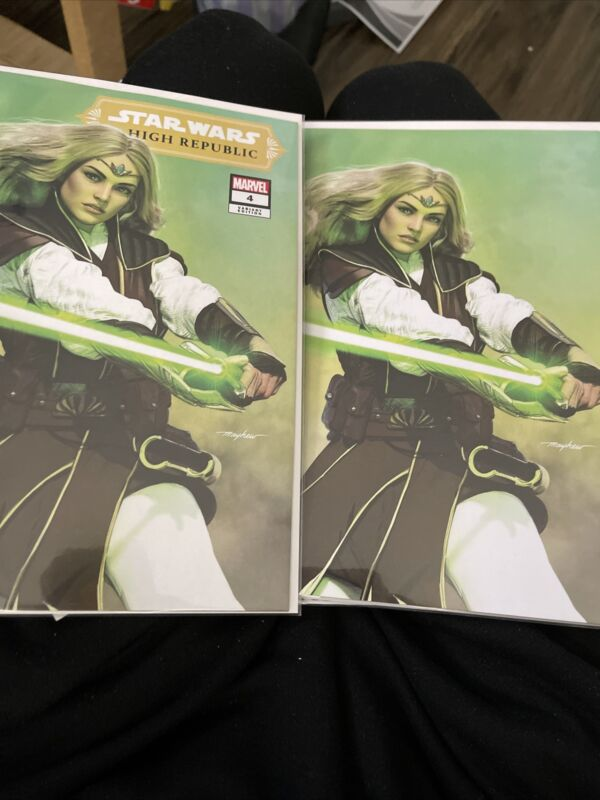 Star Wars High Republic #4 - Mike Mayhew Variant Set - Trade Dress + Virgin
