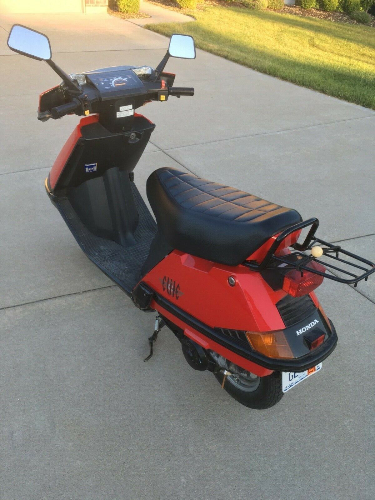 Honda CH80 Elite Scooter Motorcycle