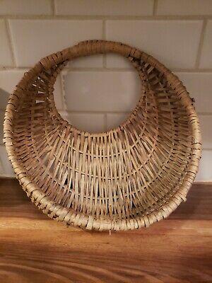 Vintage Round Wall Pocket Planter Hanging Basket-boho 14