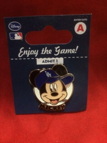 Mickey Mouse Los Angeles Dodgers Disney Pin - New - Factory Package