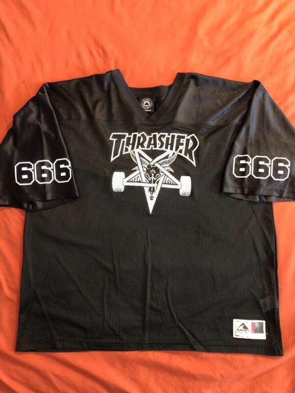 Thrasher Magazine Skate Goat Jersey Rare XXL