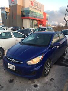2012 Hyundai Accent clean title