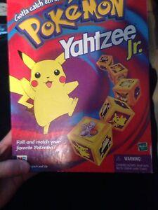 Original Pokemon Yahtzee jr