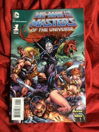HE-MAN AND THE MASTERS OF THE UNIVERSE #1~DC COMICS WITH RED SONJA~1st PRINT~B