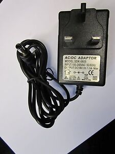 18V 1A AC/DC Mains Power Supply Adaptor Charger for Alto ZMX 8 Channel Mixer