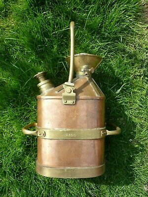 Antique Petrol Can - S.Y.C.C Petrol Check Pump - 10 litre Extremely RARE