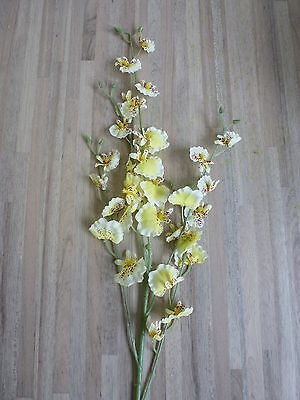 12 x Orchidee 12tlg. Set Seidenblume Kunstblume 75 cm creme 2259091 F3
