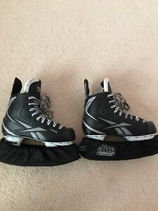 Rebook SC5 Skates With SKATE GUARDS!!! Mint Condition