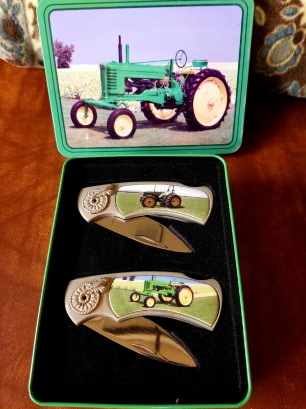 John deere knife set