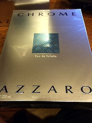 Chrome By Azzaro 6 8 Oz Edt Cologne Spray For Men   New In Box