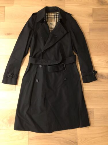 Burberry trench the long chelsea noir taille fr 36