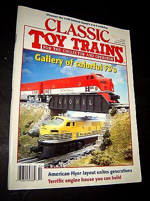 CLASSIC TOY TRAINS- February, 1996- Lionel & American Flyer