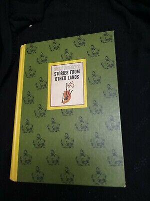 Vintage Walt Disney Stories from other lands Childrens Book H.C. 1965