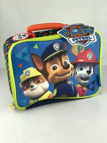 Paw Patrol Soft Thermos Lunch Box Kit Kids Boys Storage Scho