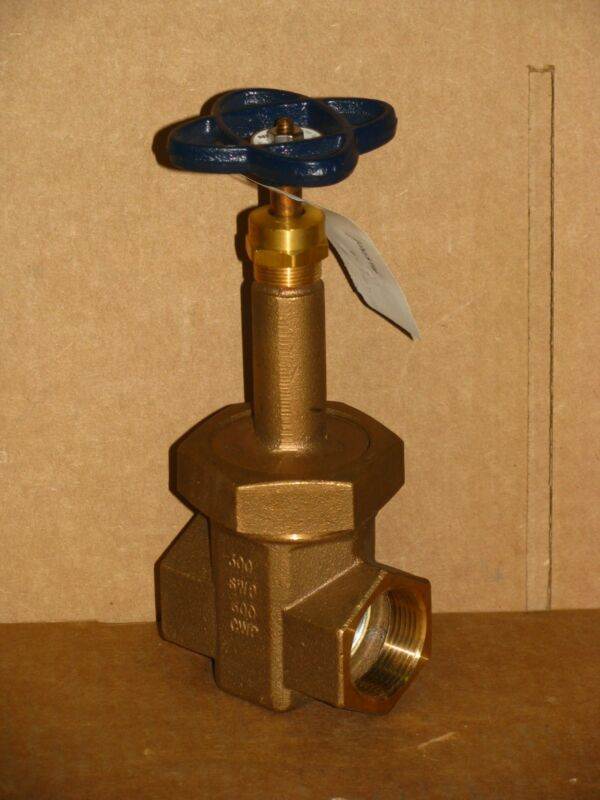 "New Nibco T-174-SS Gate Valve - 1 1/4"" Threaded"